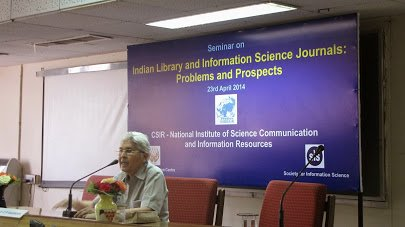 SIS & CSIR-NISCAIR event on 22-04-2014